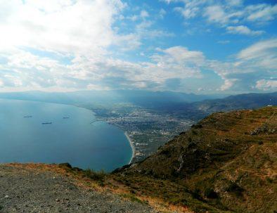 paragliding kalamata view